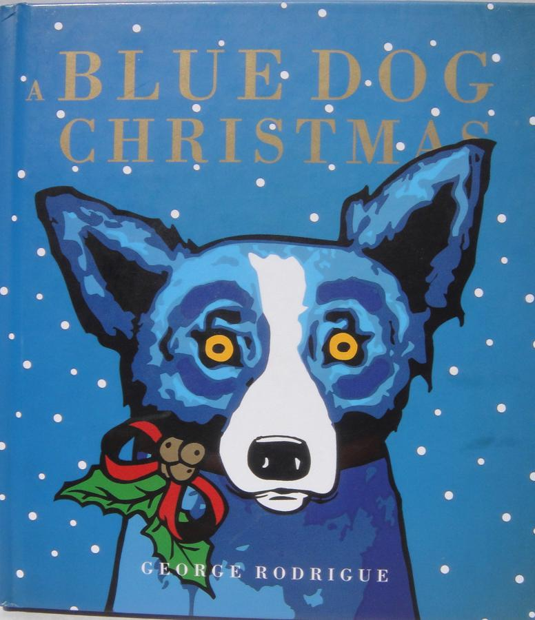 Blue Dog Christmas Book