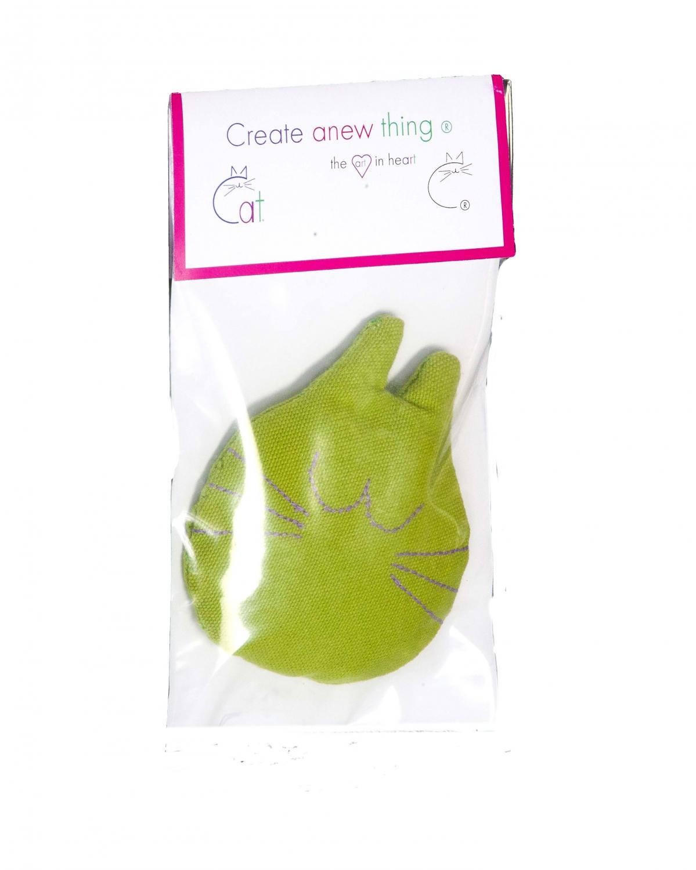 Cat head cat toy