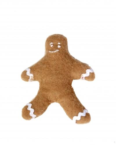 Yummy Gingerbread boy catnip toy