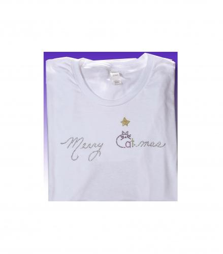 Sparkle in this Merry Catmas t-shirt