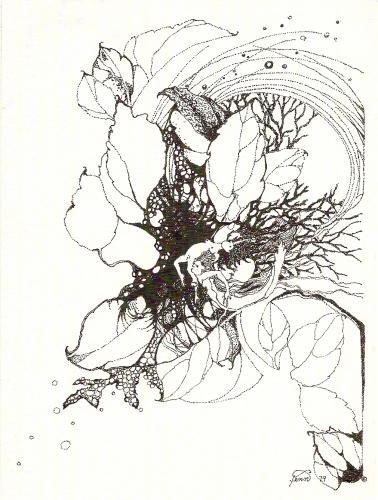 Pen & ink drawing 5