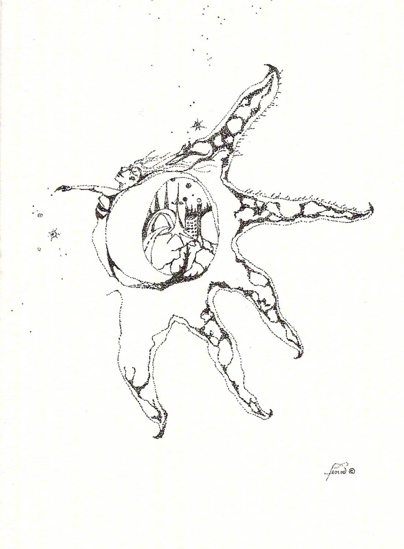 Pen & ink drawing 4