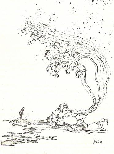 Pen & ink drawing 8