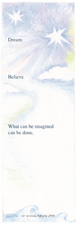 Inspiring Bookmark