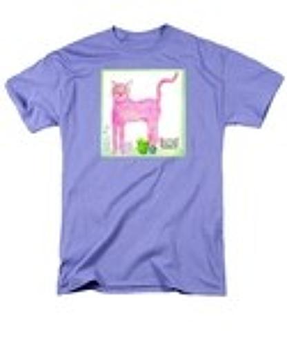 P ink ee cat t-shirt