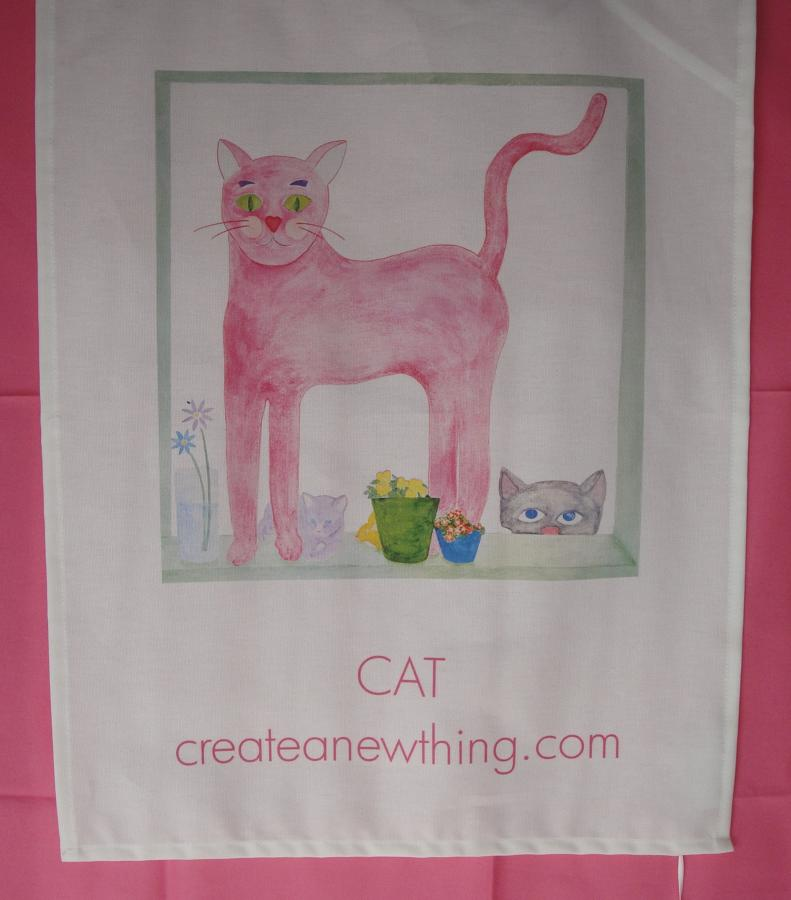 P ink ee cotton tea towels